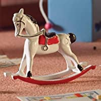 The Dolls House Emporium White Rocking Horse