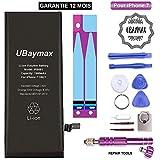 UBaymax Batterie Compatible iPhone 7 Haute Capacité 2200 mAh avec 15% de Plus Kit...