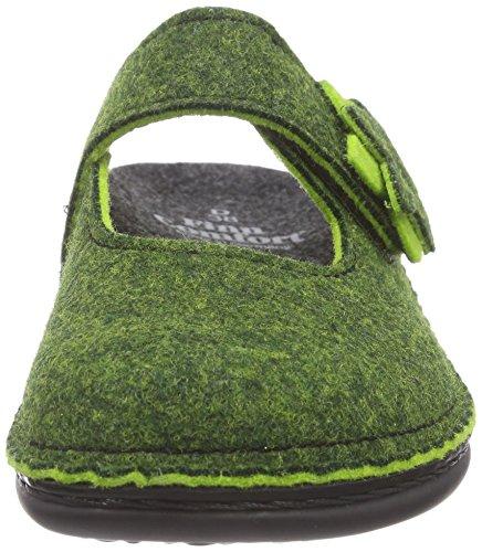 Finn Comfort Arlberg Damen Clogs Grün (Green)