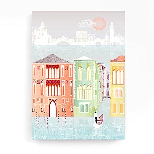 venedig-kanale-und-schlosser-wand-kunst-leinwand-fur-die-wand-druck-drucke-von-italien-und-italienis