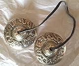 Cymbales tibétaines/Tingshas/méditation et prière Taille S