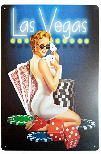 Las Vegas Retro Vintage Home Bar Decor Metal Tin Posters 7X10 Inches