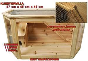 Käfig Holzkäfig Ratten Mäuse Hamster Nager Terrarium
