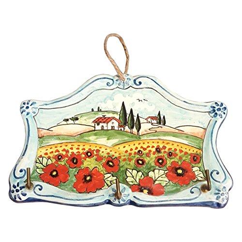 CERAMICHE D'ARTE PARRINI- cerámica italiana artísticas , llaveros, paños de cocina que...