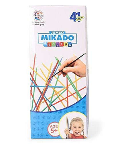 Ratna\'s premium quality mikado sticks jumbo for kids to develop concentration and attention span building