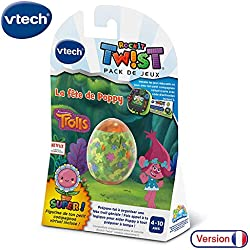 VTech - RockIt TWIST - Jeu Trolls - La fête de Poppy, jeu console éducative