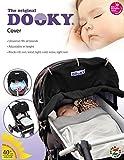 Dooky Sonnenschutz für Kinderwagen, Schwarz