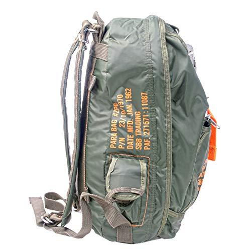 Sac à dos para Bag 6-Parachutistes style avec mousqueton à dégagement rapide
