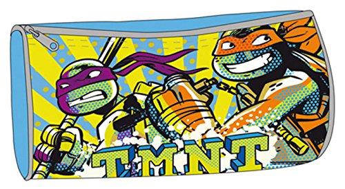 Tortugas Ninja–Estuche escolar azul TMNT tortugas Ninja