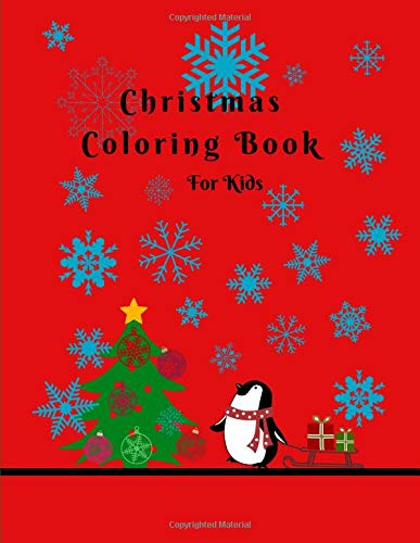 Christmas Coloring Book For Kids -