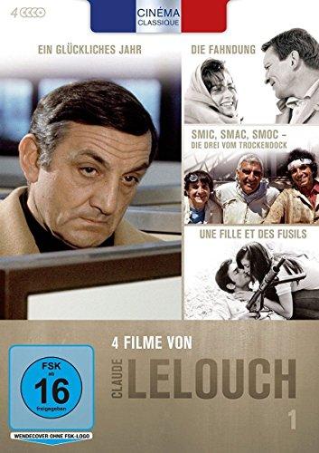 Cinéma Classique Claude Lelouch - Box 1 [4 DVDs]