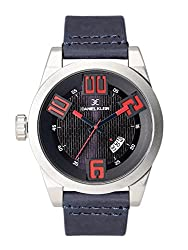 Daniel Klein Analog Blue Dial Mens Watch - DK11229-3