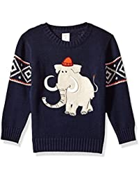 Gymboree Toddler Boys' Long Sleeve Mammoth Fair Isle Sweater