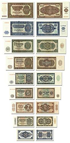 DDR Geldscheine von 1948 Deutsche Notenbank , TOP Reproduktionen DDR Geldscheine von 1948 Deutsche Notenbank, TOP Reproduktionen
