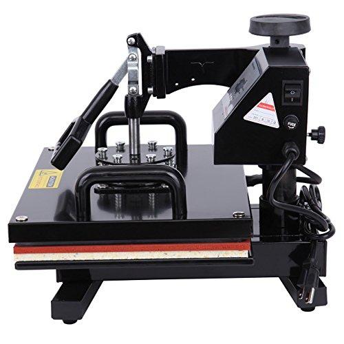 Ridgeyard Digital Swing auswärts T-shirt Foto Hitze Presse Maschine Sublimation Transferdruck 39.5×31.5cm - 4