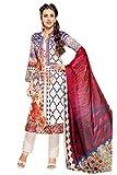 Lebaas Cotton Embroidered Salwar Suit Du...