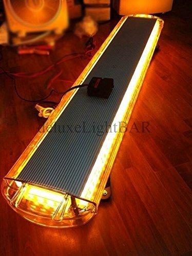 80 W LED Lighr Barre Emergrncy Beacon prévenir dépanneuse Plough réponse Strobe Couleur ambre