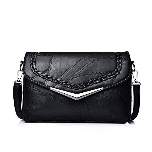 Sprnb Estate Borsa Borsetta Fashion Bag Sacca Crossbody Tutti-Match Borsa Tracolla In Pelle Per Madre,B B