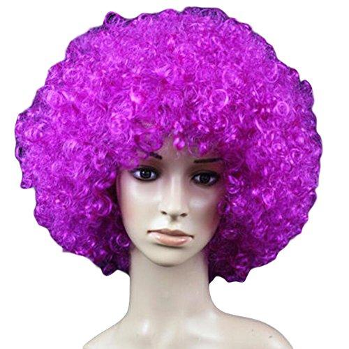 Balle Masque/Accessoires Parti/Cosplay/Clown Hair Pieces/Perruques-Violet