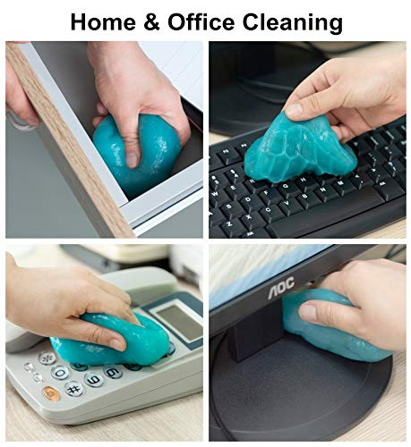 TICARVE Cleaning Gel for Car Detailing Putty Auto Cleaning Putty Auto Detailing Gel Detail Tools Car Interior Cleaner Universal Dust Removal Gel Vent Cleaner Keyboard Cleaner for Laptop
