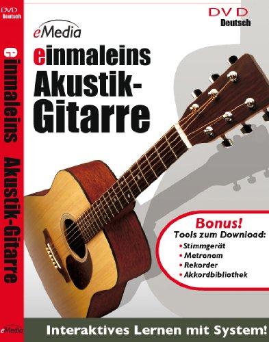 einmaleins Akustik Gitarren - Gitarrenschule in Deutsch [DVD-Video]