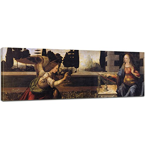 Bilderdepot24 Kunstdruck - Alte Meister - Leonardo da Vinci und Andrea del Verrocchio -...