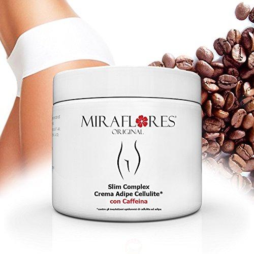 Crema Cellulite con Caffeina 500 ml - Corpo rassodante - Anticellulite - Snellente - Inestetismi cellulite e adipe - Crema per massaggi Anticellulite - Ideale per gambe e fianchi