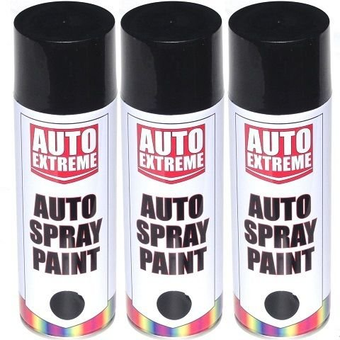 3-x-black-satin-gloss-spray-paint-aerosol-can-auto-extreme-bike-van-car-500ml-r