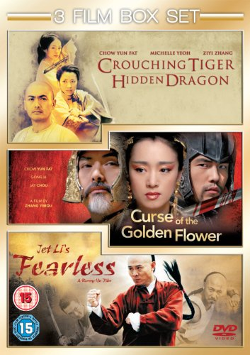 Bild von Curse of The Golden Flower / Fearless / Crouching Tiger, Hidden Dragon [3 DVDs] [UK Import]