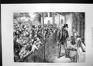 Abend-Party-Nutzen-London-Krankenhaus-Prinzessin Wales blüht 1884