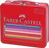 Faber-Castell 201312 Malkoffer Jumbo Grip 18 Buntstifte