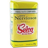 Yerba Mate Compuesta Para Nerviosos La Selva 1000 G.