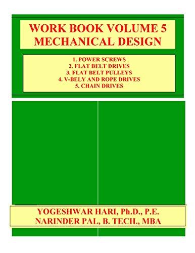 WORK BOOK VOLUME 5 MECHANICAL DESIGN (English Edition) -