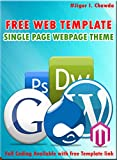 Free Web Template - Single Page Website - by Jiger I. Chawda (English Edition)