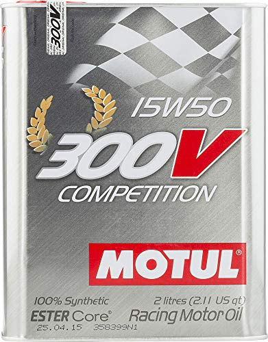MOTUL 104244 300 V competition 15 W-50, 2