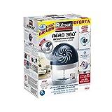 Rubson AERO 360º Deshumidificador recargable, absorbe humedad, previene la condensación y los malos olores, antihumedad ultra absorbente 1 dispositivo y 1 tableta de 450 g