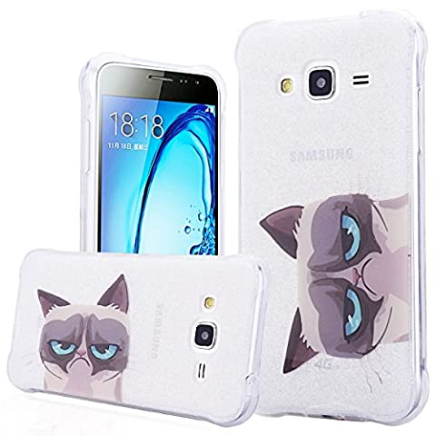 Coque Samsung J3 2015/2016 , We Love Case Glitter Briller