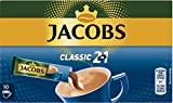 Jacobs 2 in 1, 10 Kaffee Sticks, 140 g