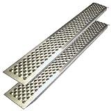 Carpoint 0410270 Auffahrrampe 2 x 1.50 m, aluminium