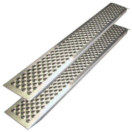 Preisvergleich Produktbild Carpoint 0410270 Auffahrrampe 2 x 1.50 m, aluminium