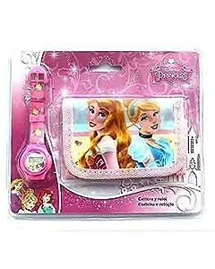 Disney-Reloj Digitale-Puerta Moneda Princesses, as8615