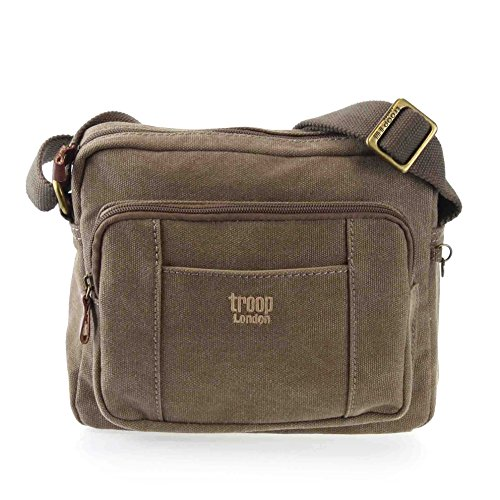 troop-london-maleta-de-lona-unisex-adulto-color-marron-talla-one-size