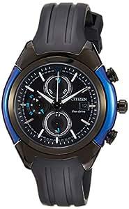 Citizen Dome Herren-Armbanduhr XL Chronograph Resin CA0288-02E
