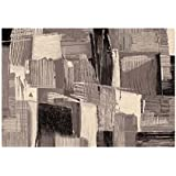 Alfombra de design Sitap elegante Dal Dibujo Abstracto (Varios Tonos de Gris Capri 32865 – 2595