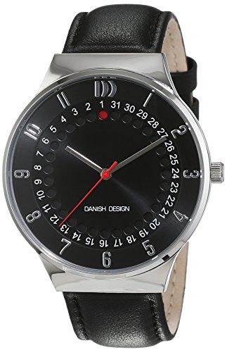 Danish Design uomo-Orologio da polso al quarzo in pelle 3314511