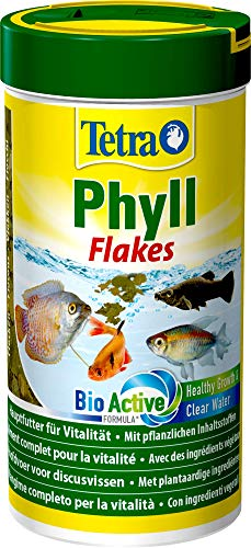 Tetra Phyll Mangime in Scaglie per Pesci Tropicali, 250 ml