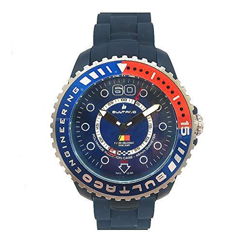 Bultaco Reloj Analog-Digital para Mens de Automatic con Correa en Cloth S0335012
