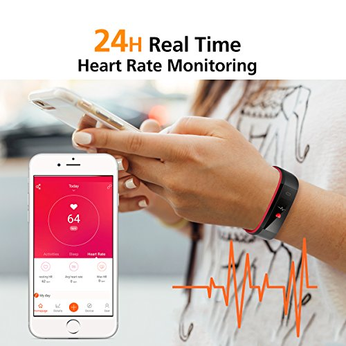 Vigorun-Fitness-Tracker-Cardiofrequenzimetro-Bluetooth-IP68-Impermeabile