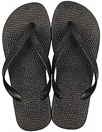 YMFIE Trendy zuziehen Mop lady Außenpool im Sommer dicke Boden rutschsicher Sand Strand sandals Schwimmbad Schuhe, 40, Weiß