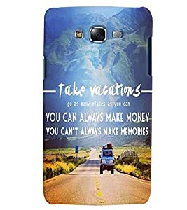Citydreamz Vacations/Travel/Places/Memories/Money/Quotes Hard Polycarbonate Designer Back Case Cover For Samsung Galaxy A7